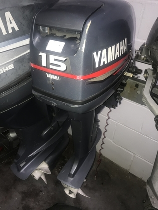 Yamaha 15HP Outboard Motor