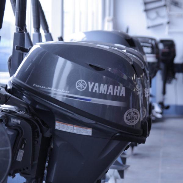 Yamaha 90HP Outboard Motor