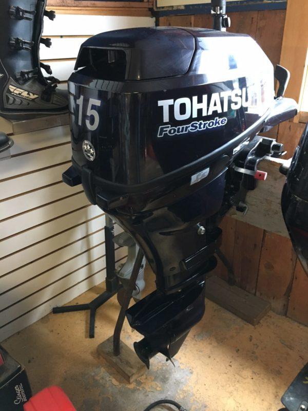 Tohatsu 15HP Outboard Motor