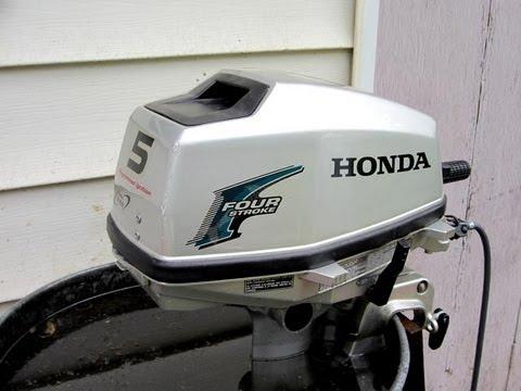 Honda 5HP Outboard Motor