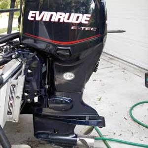 EVINRUDE E-TEC 115HP Outboard Motor